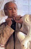 Su padre también esculpía