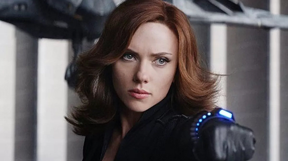 "Scarlett Johanson, en ""Black Widow"""