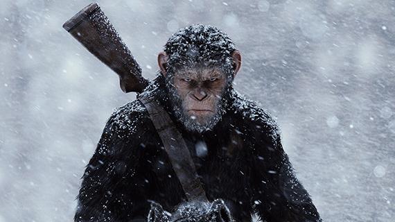 Caesar, el simio protagonista de la última trilogía
