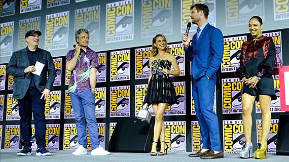 Presentando la próxima de Thor