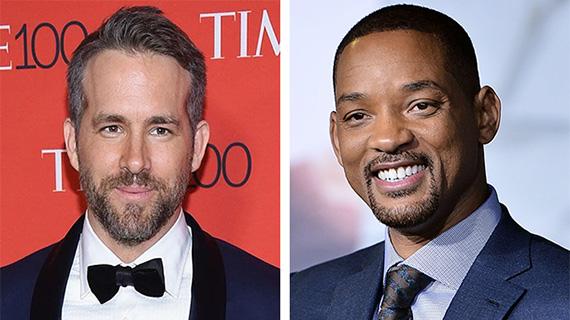 Ryan Reynolds y Will Smith