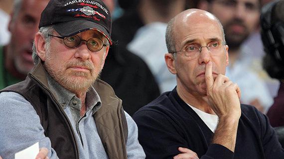 Spielberg con Katzenberg