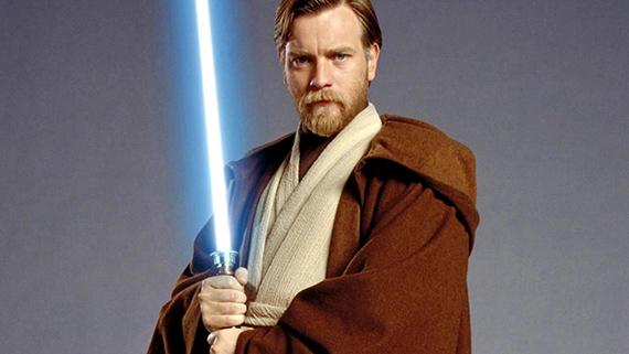 McGregor como el caballero Jedi