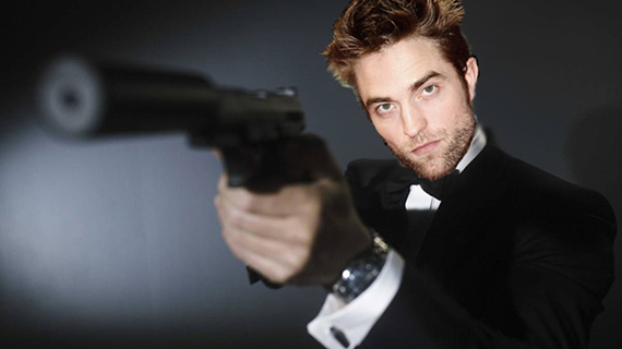 ¿Robert Pattinson como 007?