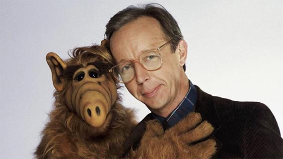 Max Wright, con Alf