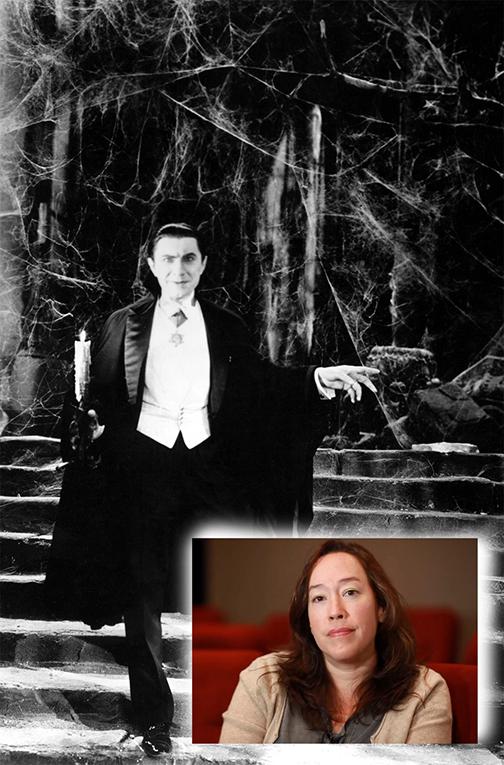 """""""Drácula"""" y la directora Karyn Kusama"""