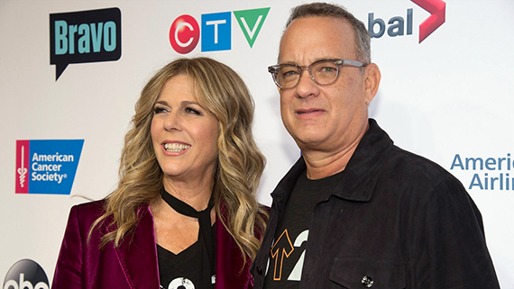 Tom Hanks y  Rita Wilson