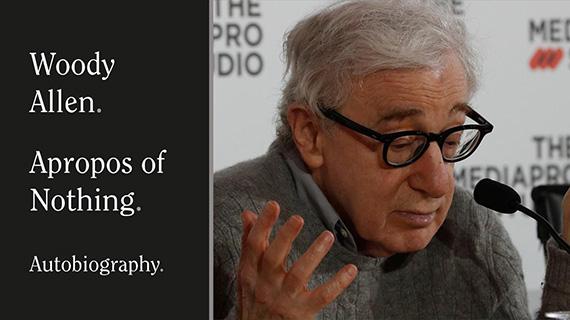 Woody Allen y su libro