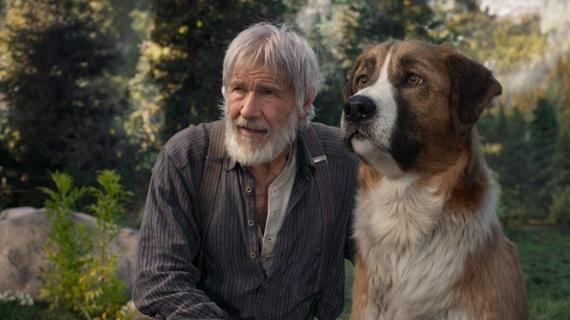 Harrison Ford y su mejor amigo