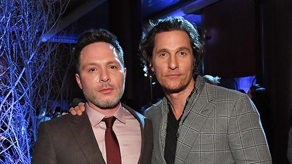 Matthew McConaughey y Nic Pizzolatto
