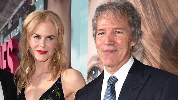 David E. Kelley, con Nicole Kidman