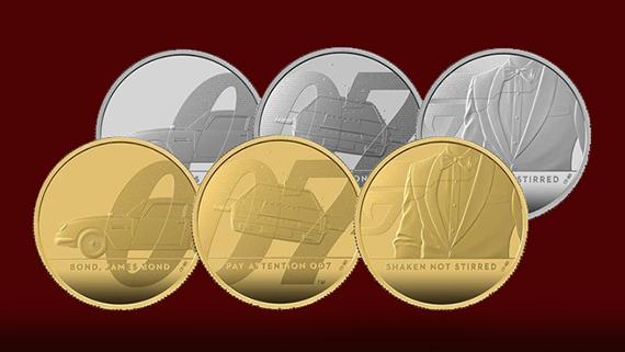 El oro y la plata de 007