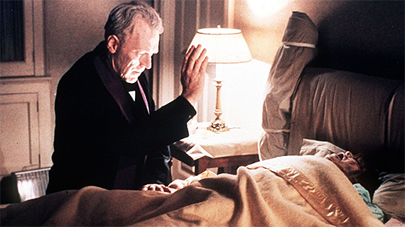 """Von Sydow, en """"El exorcista"""""""