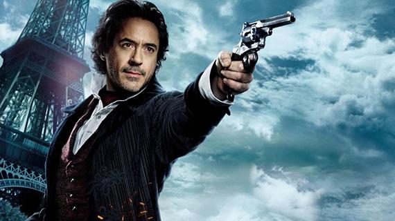 Robert Downey Jr. como Sherlock Holmes