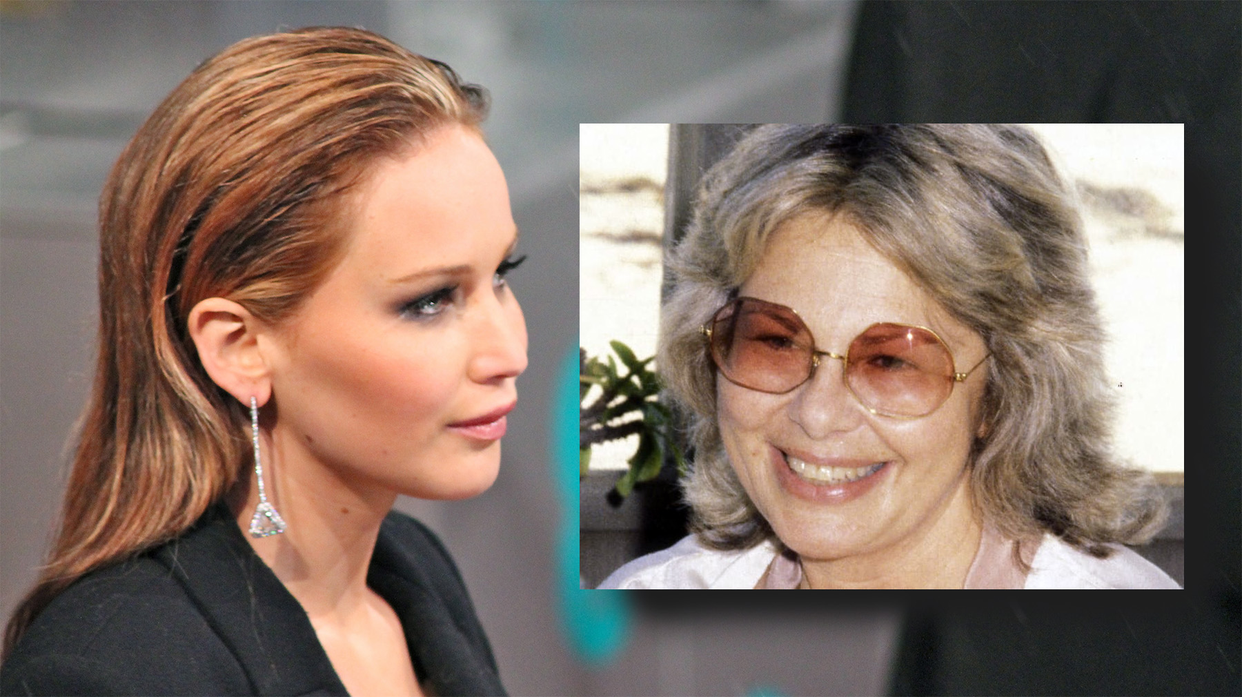 Jennifer Lawrence y Sue Mengers