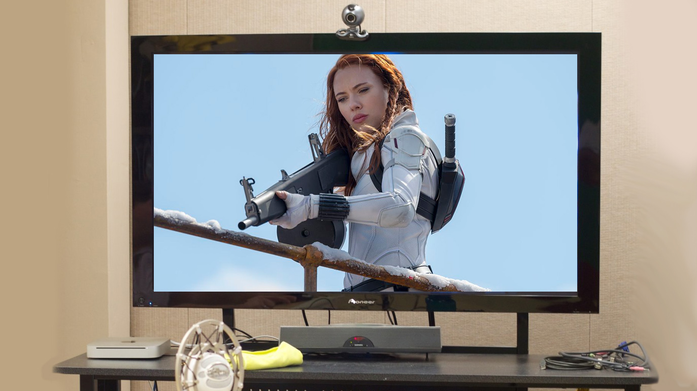 """""""Black Widow"""" se ha visto más en los televisores"""