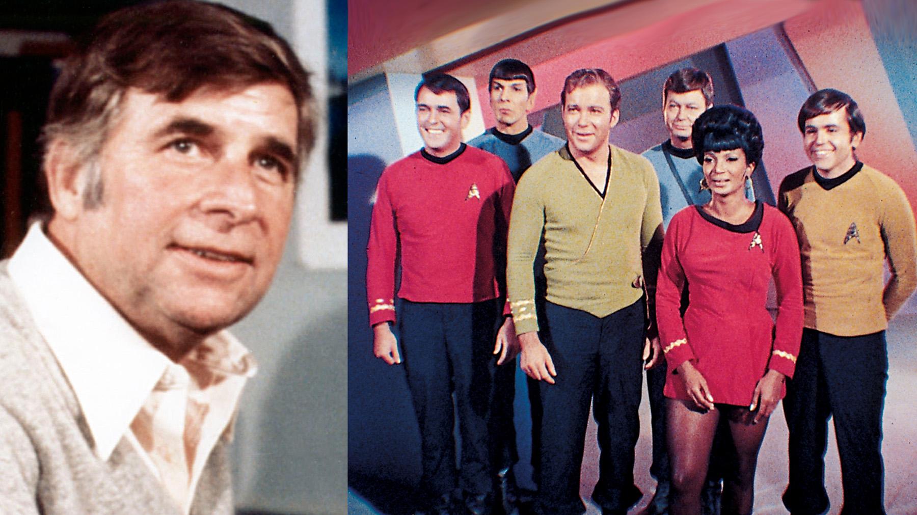 """Gene Roddenberry, creador de """"Star Trek"""""""