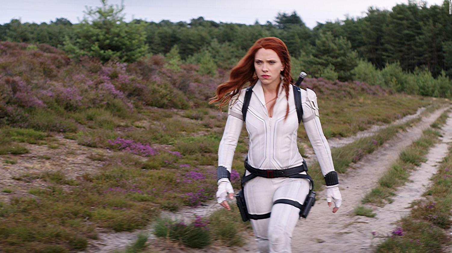 """Johansson en """"Black Widow"""""""