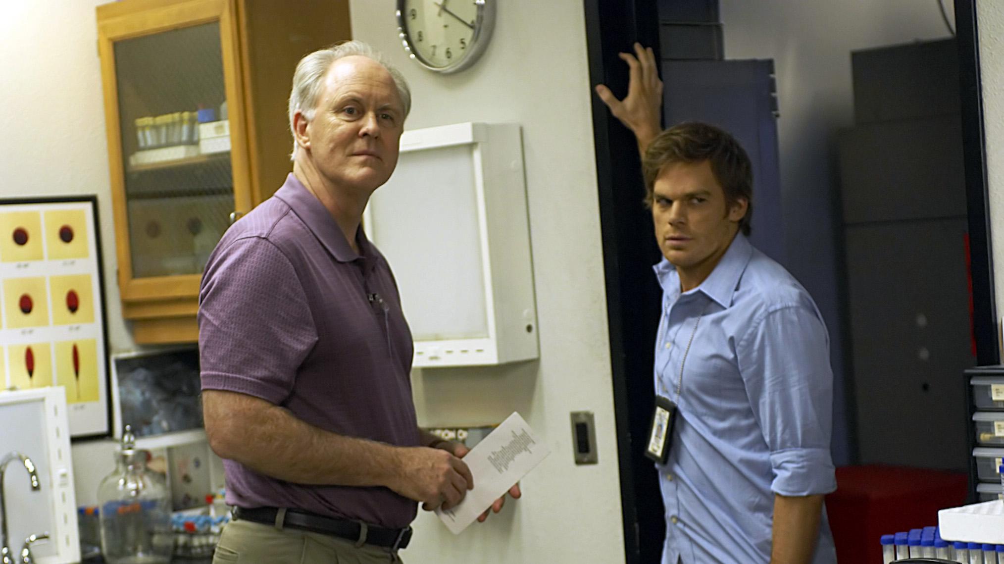 John Lithgow con Michael C. Hall