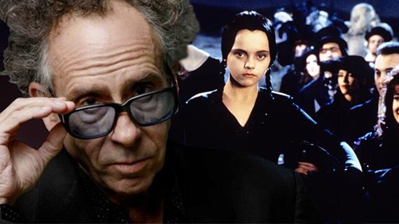 Burton dedicará serie a su personaje Addams favorito