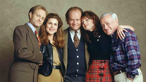 "El elenco original de ""Frasier"""