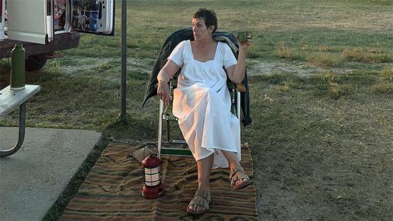 """Frances McDormand en """"Nomadland"""""""