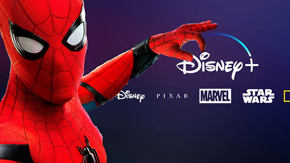 """Películas de """"Spider-Man"""" se verán en Disney+"""