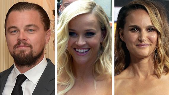 DiCaprio, Witherspoon y Portman