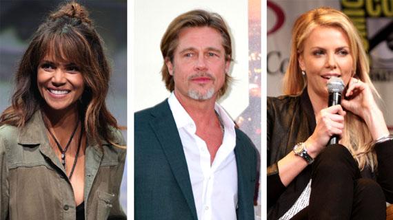 Halle Berry, Brad Pitt y Charlize Theron