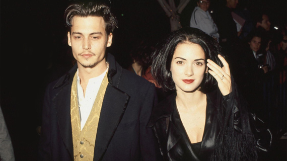 Depp y Ryder, cuando estaban juntos