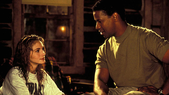 Julia Roberts y Denzel Washington