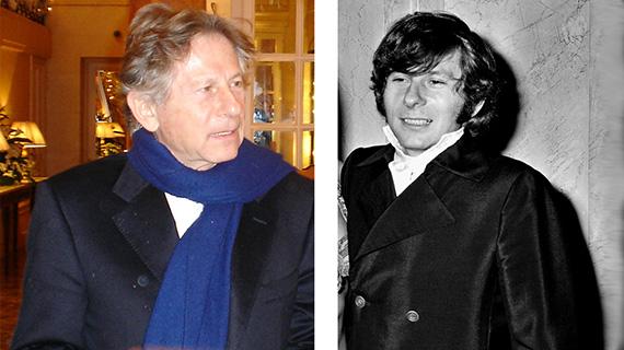 Roman Polanski, recientemente y en la época en que fue detenido por violación