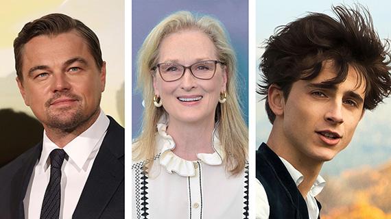 Di Caprio, Streep y Chalamet
