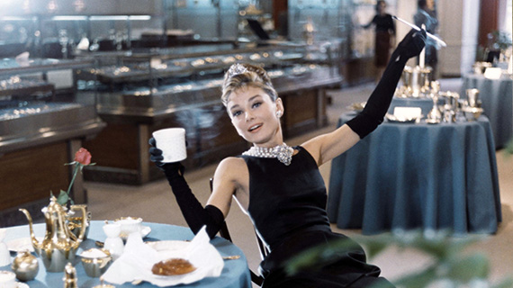 "Hepburn, en ""Desayuno con diamantes / Breakfast At Tiffany's"""