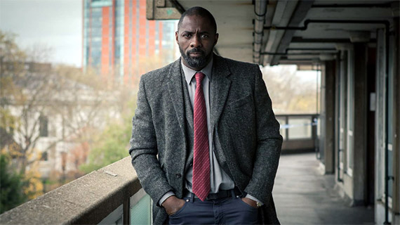 "Idris Elba, como ""Luther"""