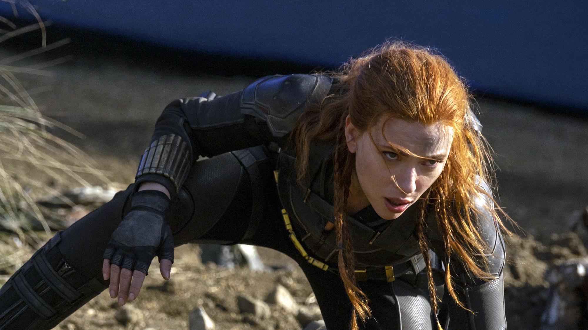 """Scarlett Johansson, en """"Black Widow"""""""