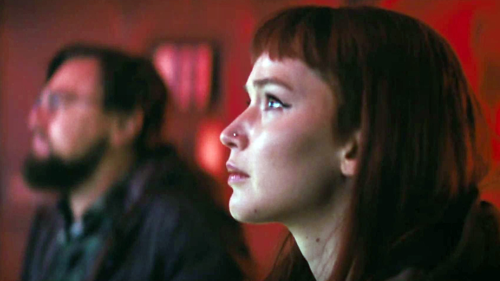 "Jennifer Lawrence  en ""No mires arriba / Don't Look Up"""